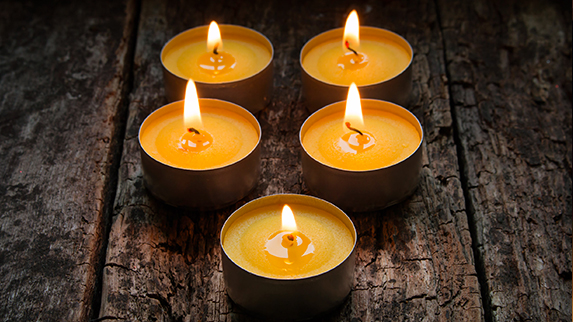 Hart Holistic Support Funerals candles