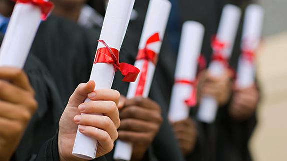 HART Holistic Support Ceremonies graduation certificate scroll