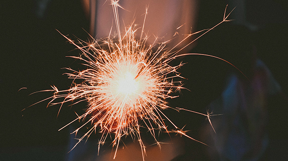 HART Holistic Support Services Weddings sparkler