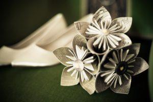 HART Holistic Support unique wedding handmade paper flowers