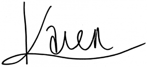 Karen Abi-Karam signature